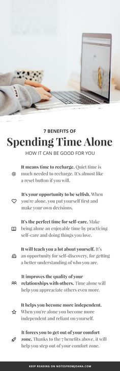 7 Benefits Of Spending Time Alone | Being Alone and Feeling Lonely. Alone Time. Learning to enjoy my own company. // Notes from Joana