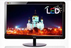 """20"""" 16:9 Widescreen LED Moniter DP2010LED Back Light 50000:1 250cd/m2 Tilt"""