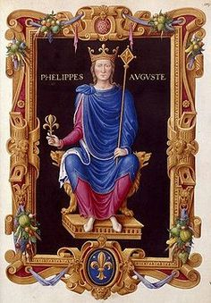 Philippe II Auguste as imagined during the renaissance French History, European History, Art History, Philippe Auguste, Sea Peoples, English Monarchs, Art Roman, High Middle Ages, 5 April