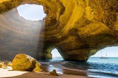 Benagil Cave in Portugal: Zu dieser Höhle sollten Sie am besten schwimmen - [GEO]