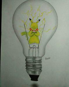 Pikachu gives you light