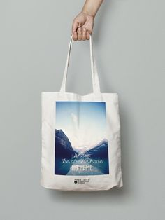 """Tote bag """"Where the streets have no name"""""""