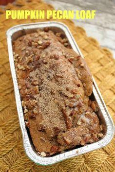 Pumpkin Pecan Loaf Recipe!! Delicious and Easy!