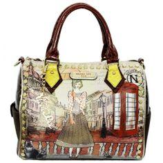 Nicole Lee Telephone Booth London street handbag