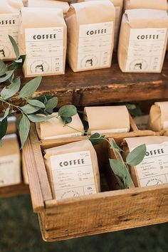 Wedding Favour Displays, Plant Wedding Favors, Coffee Wedding Favors, Coffee Favors, Edible Wedding Favors, Best Wedding Favors, Personalized Wedding Favors, Our Wedding, Wedding Gifts
