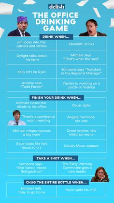 NBCUniversal is pulling the hit comedy show The Office from Netflix streaming service by January we dreamed up a drinking game to drown our sorrows. Play along!