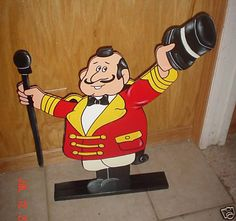 Circus ringmaster stand up party decorations supplies #Birthday #Decoration