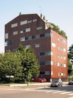 Luigi Caccia Dominioni | edificios residenciales en Milan | HIC Arquitectura