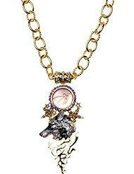 Kirks Folly Lone Wolf Astral Fairy Magnetic Interchangeable Necklace ~ NEVER RELEASED ~