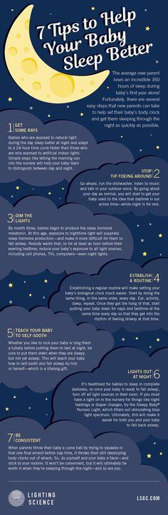 7 tips to help your baby sleep better