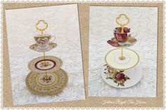 Tiered Cake Stands, Tiered Cakes, Bridal Showers, Tea Time, Entertaining, Facebook, Shop, Wedding, Etsy