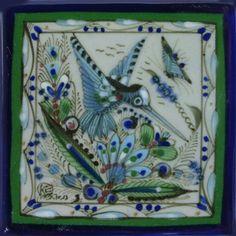 Ken Edwards Collection - Calibri Y Mariposa II – Mexican Tile Designs
