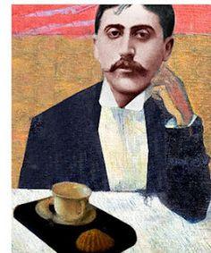 L'oeuvre: 'Du côté de chez Swann'. Marcel Proust et la madeleine.