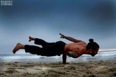 Pedro Franco: Venice Beach, California Guys Love Yoga, Too! (Gorgeous Slideshow) Loved and pinned by www.downdogboutique.com