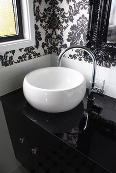 Gorgeous sink! @smithandsonsqld #renovation #bathroom