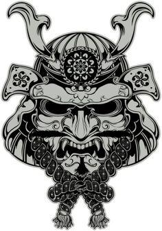 Samurai Art Print by Digisinapparel