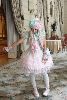 ♡ Lunie at the Angelic Pretty Tea Party