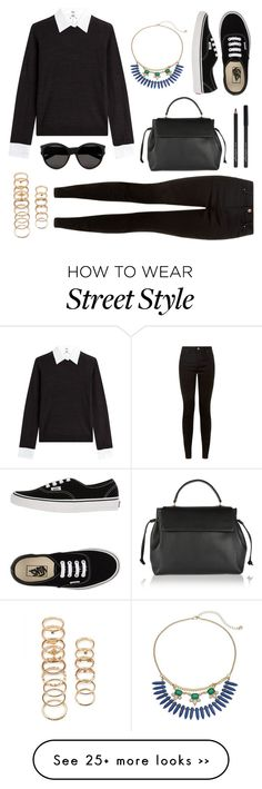 """""""street style"""" by aoihikarianna on Polyvore featuring Steffen Schraut, LC Lauren Conrad, Lanvin, Forever 21, Yves Saint Laurent and Vans"""
