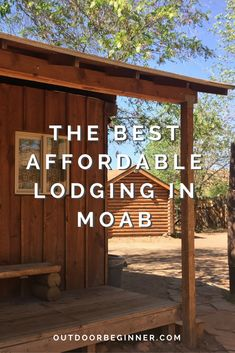 Don't gamble on your sleeping arrangements in Moab! Lazy Lizard is the perfect back-up plan in case you can't find a place to camp. Road Trip Hacks, Camping Hacks, Camping For Beginners, The Conjuring, Campsite, Lodges, All Over The World, Lazy, Pergola