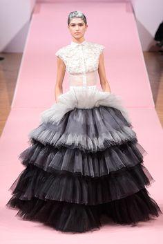 Ton sur ton. Alexis Mabille Spring 2013 Couture.