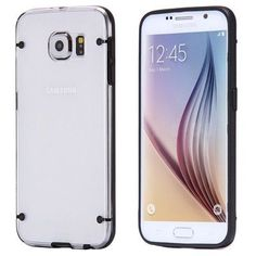 For Galaxy S6 Luminous Cases Fashion Glow in Dark Transparent Clear Case For Samsung Galaxy S6 G9200 Slim TPU Gel Back Cover FLM
