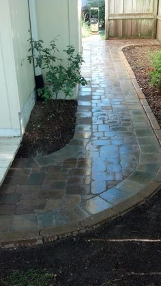 Paver pathway - Mechaley Landscaping