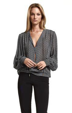 Santiago Silk Blouse from Hunkydory www.hunkydory.com