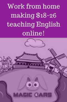 Work from home teaching English to Chinese Kids! #esl #sahm #homeschool #teacher #teaching #workfromhome #sidehustle