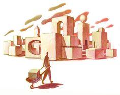 Bitacora de cómic e ilustración  Javier Monsalvett: PONERÓPOLIS, LA CIUDAD DE LOS MALVADOS