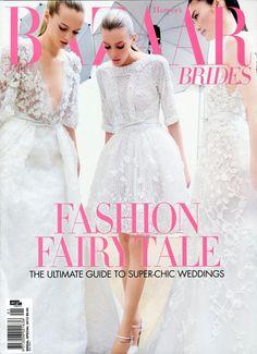 Bazaar Brides #Fashion #Magazine cover