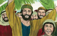 This free Bible lesson is based on Mark when Jesus rides into Jerusalem on a donkey. It is designed for children's church or Sunday School. Please modify as best fits your ministry. Palm Sunday Lesson, Sunday School Lessons, Bible Lessons, Lessons For Kids, Psalm Sunday, Spiritual Background, Sundays Child, Easter Story, Christian Images