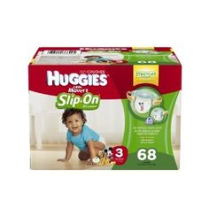 Huggies Little Movers Slip-On Diapers, Size 3, Big Pack -   - http://babyentry.com/baby/diapering/disposable-diapers/huggies-little-movers-slipon-diapers-size-3-big-pack-com/