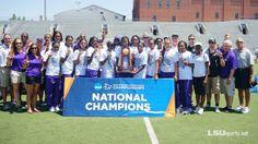 Louisiana State University | LSU has won 45 national championships: Baseball (5), Men's Basketball (1), Boxing (1), Football (3), Men's Golf (4), Men's Track and Field (6), Women's Track and Field (25)!