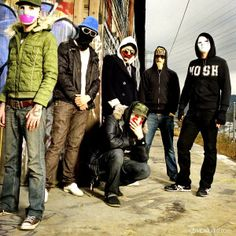Hollywood Undead. Listen to them daily