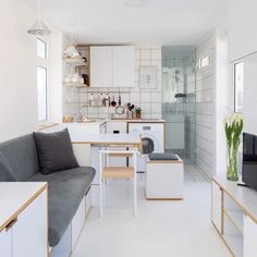 Shoe Box apartment in Beirut packs everything into 15 square metres @thelordlionel