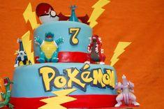 decoracion cumpleaños pokemon torta picachu