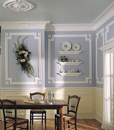 paint ideas red walls white molding wall trim paint ideas and pictures - Moulding Designs For Walls