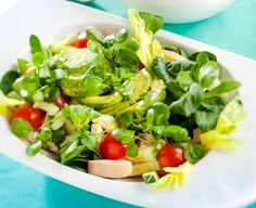 Salad recipies: chicken avokado salad/kana-avokadosalaatti