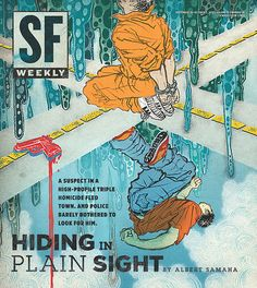 SF Weekly, September 26, 2012  Art director: Andrew J. Nilsen  Illustration: Yuko Shimizu