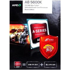 AMD A8-5600K APU 3.6Ghz Processor AD560KWOHJBOX by AMD. $103.79. AMD Processor
