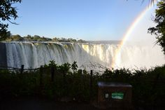 Rainbows at Vic Falls