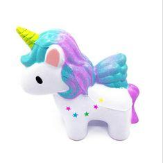 Adorable sparkle unicorn squishy!