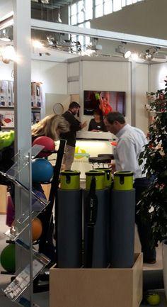 Unser Novacare/Sissel Stand auf der FIBO 2016 in Köln: MOTR von Balanced Body