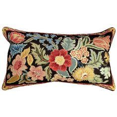 Orvieto 16 x 28 inches needlepoint pillow