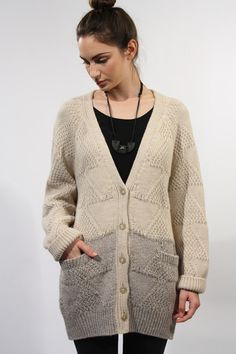 Micaela Greg Cream Nile Cardigan