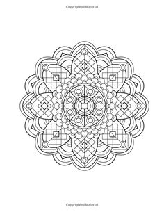 Mandala Design Coloring Book: Volume 1: Jenean Morrison: 9780615913650: Amazon.com: Books by Elaine57