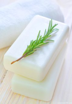 DIY Rosemary, Mint And Goat MIlk Cold Process Recipe