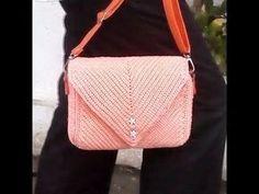 Crochet || how to make crochet bag || sc back loop only - YouTube