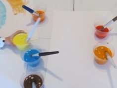 All the M water paint colors...
