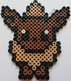 #133 Pokémon: Eevee. Perler beads